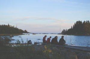 Häng vid sjön